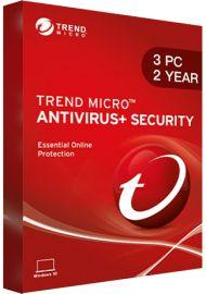 Trend Micro Antivirus Security - 3 PCs - 2 Years [EU]