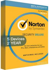 Norton Security Deluxe 3 - 5 Devices - 2 Years [EU]