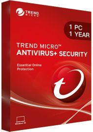 Trend Micro Antivirus + Security - 1 PC - 1 Year [EU]