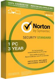 Norton Security Standard 3 - 1 Device - 3 Years [EU]