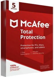 McAfee Total Protection - 5 Devices - 1 Year [EU]