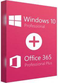 Microsoft Office 365 Professional Plus and Windows 10 Pro Bundle