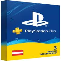 Playstation Plus PSN Cards - 90 Days AT